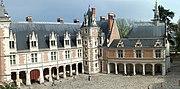 The Louis XII wing at the Château de Blois.