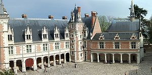 The Louis XII wing at the Château de Blois