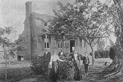 Blount Hall, childhood home of William Blount
