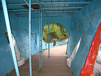 Blue Whale of Catoosa - Image: Blue Whale of Catoosa Interior