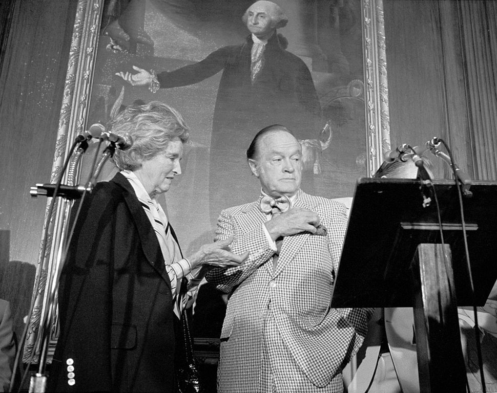 Bob Hope gets plaque on Hill