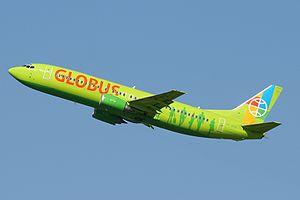 Globus Airlines - A former Globus Boeing 737-400