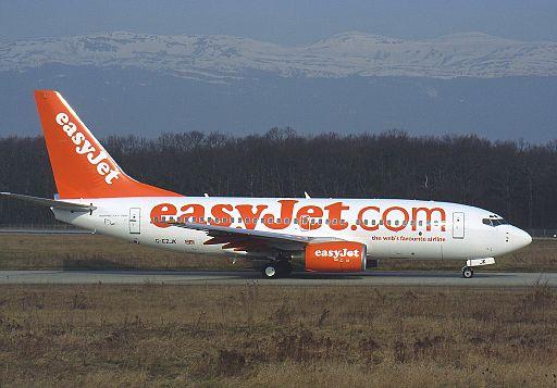 Boeing 737-73V, EasyJet Airline AN0225219