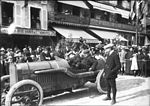 Boillot in his Peugeot at Le Mans before the 1912 Sarthe Cup.jpg