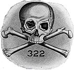 Emblem of the Skull and Bones society