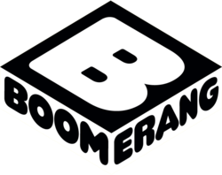Boomerang s upcoming logo that will come to the united states and the