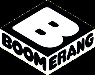 Boomerang (Nordic) - Image: Boomerang tv logo
