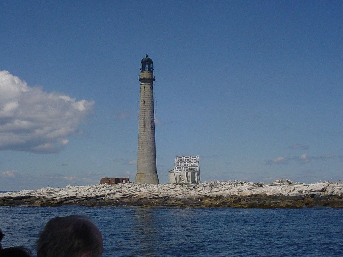 Boon Island Light - Wikipedia
