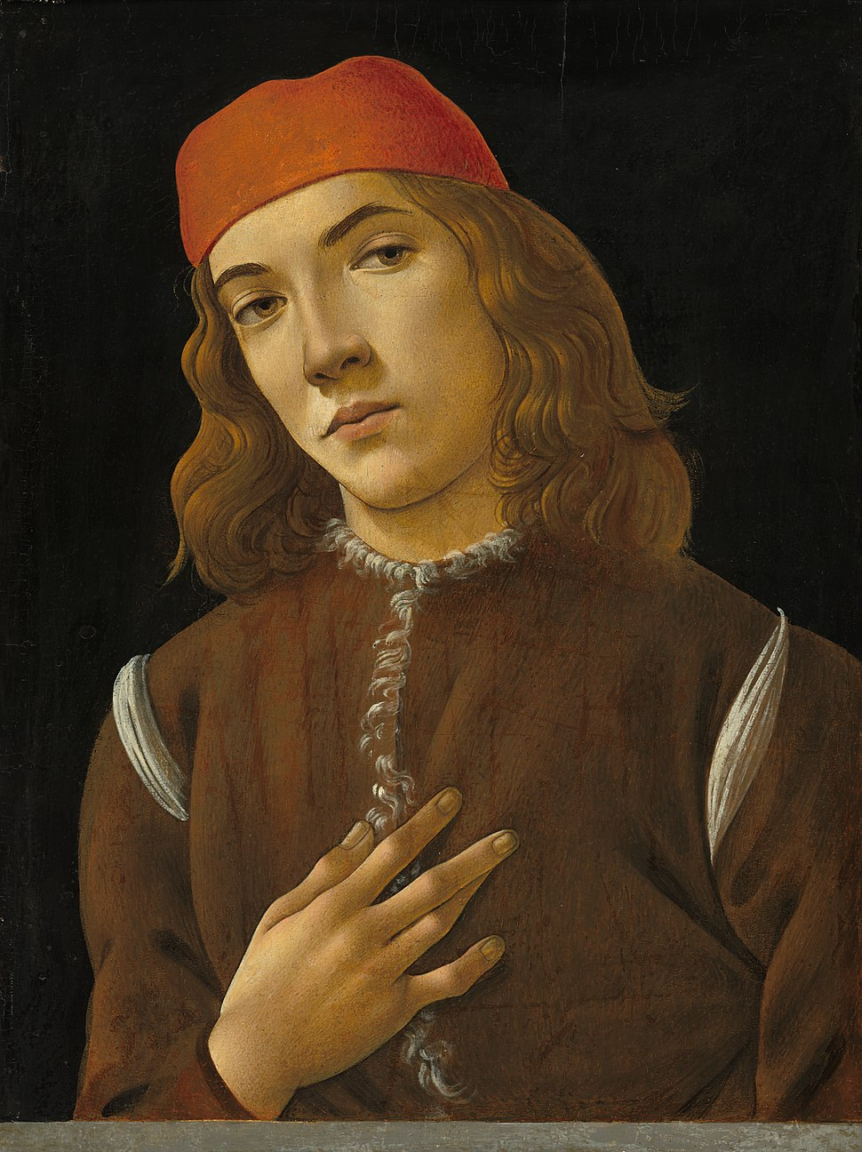 Botticelli-Portrait of a Youth