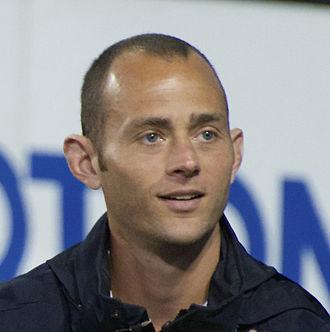 Brad Davis (soccer) - Davis in May 2014