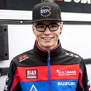 Bradley Ray British motorcycle racer