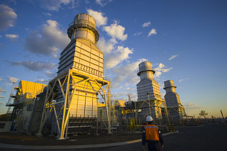 Braemar Power Station complex of combined cycle power stations in Queensland, Australia