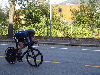Brandon McNulty - McNulty at the 2017 UCI Road World Championships