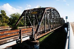 National Register of Historic Places listings in Brazoria County, Texas - Image: Brazoria Bridge 1 (1 of 1)