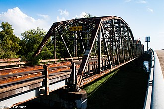 National Register of Historic Places listings in Brazoria County, Texas - Image: Brazoria Bridge 1 (1 of 1)