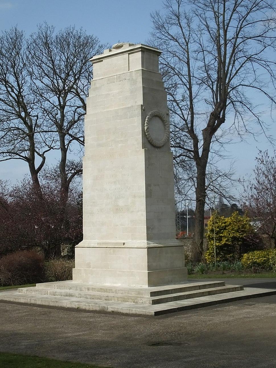 Brenchley Gardens Cenotaph 0097