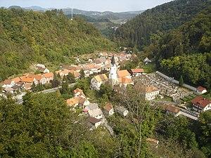 Brestanica - Image: Brestanica iz gradu