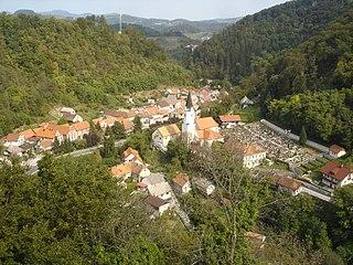 Brestanica Place in Styria, Slovenia