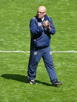 Brian McDermott (footballer) - McDermott as manager of Leeds United in 2014
