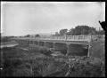 Bridge over the Waioeka River, near Opotiki, circa 1928. ATLIB 291179.png