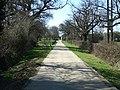 Bridleway at Shellwood Manor - geograph.org.uk - 147636.jpg