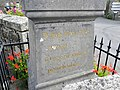 Bringolo. Monument aux Morts. Dédicace.jpg