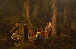 Gustave Brion: Les Pèlerins de Sainte-Odile