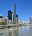 Brisbane Quarter and The One topped out, Brisbane, March 2021, 01.jpg