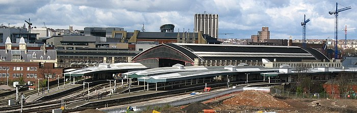 Panorama stacji Bristol Temple Meads