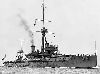 British Battleships of the First World War; HMS Dreadnought Q38705.jpg