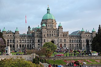 Provinces and territories of Canada - Image: British Columbia Parliament Buildings panoramio