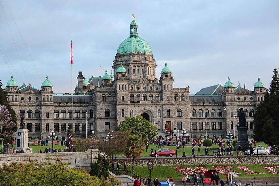 British Columbia Parliament Buildings - panoramio