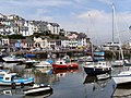 Brixham Harbour from King Street - geograph.org.uk - 1772678.jpg