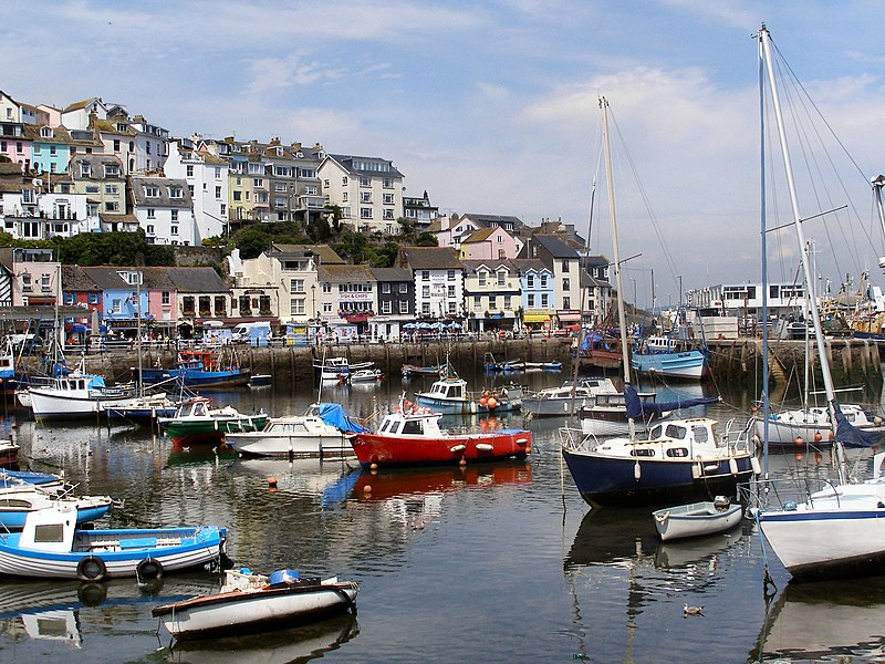 File:Brixham Harbour from King Street - geograph.org.uk - 1772678.jpg