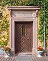 Brockwitz Dresdner Straße 192 Straßenseitige Giebelfassaden ,Torbogen eines Dreiseithofes , hofseitiger Eingang III.jpg