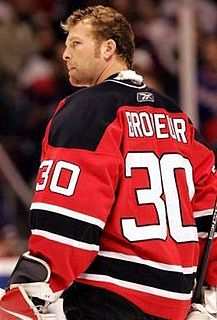 Martin Brodeur Canadian-American ice hockey player