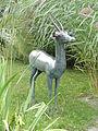 Bronzene Antilope im Botanischen Garten Gießen 01.JPG