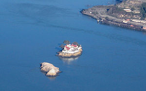 The Brothers (San Francisco Bay) - Aerial photo of The Brothers