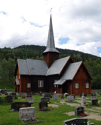 Etnedal - Bruflat church