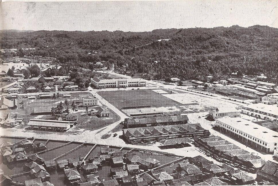 Brunei Town in 1950