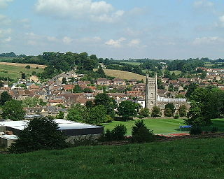Bruton town and parish in Somerset, England