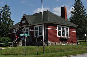 Buckfield, Maine - The Zadoc Long Free Library