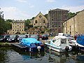 Buildings between Bolton Brow and the canal wharf, Sowerby Bridge - geograph.org.uk - 195776.jpg