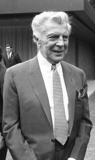 Viktor de Kowa - Viktor de Kowa in 1971