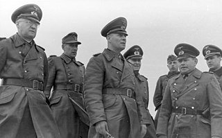 Walther Fischer von Weikersthal German General and Knights Cross recipient
