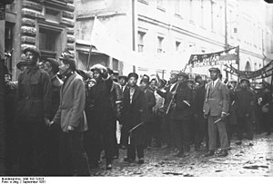 Ethnic Chinese in Russia - Chinese demonstration in 1932 in Moscow
