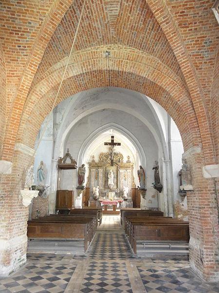 Burelles (Aisne) église