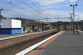 Burnley railway station railway station in Richmond, Melbourne, Victoria, Australia