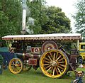 Burrell showman's engine, Abergavenny steam rally 2012.jpg