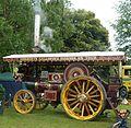 Burrell showman's engine, Abergavenny steam rally 2012.jpg